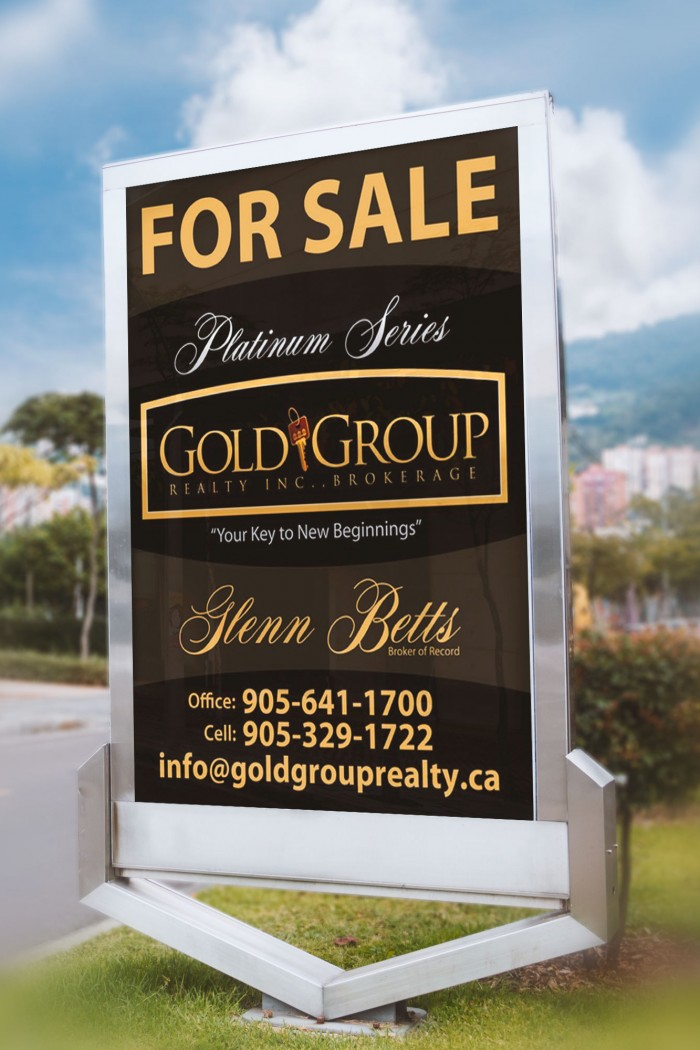 gold-group-realty-sign