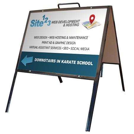 Site123.ca Sign