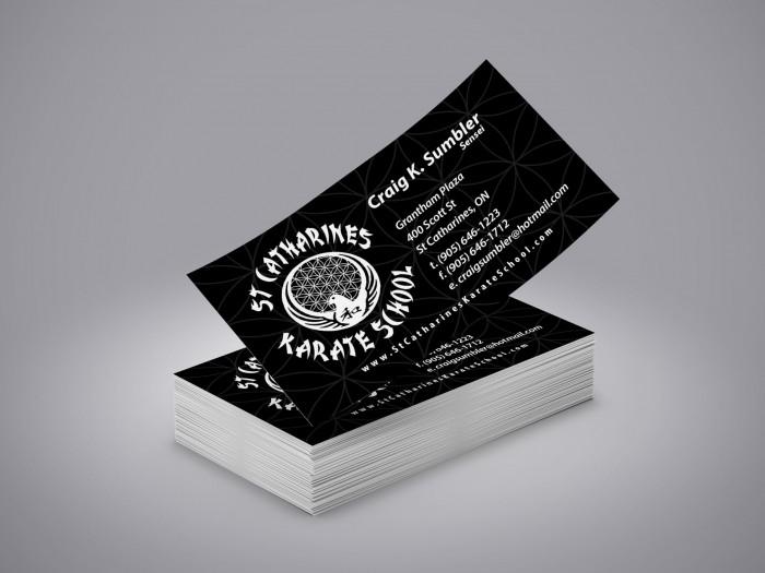 st-catharines-karate-school-business-card